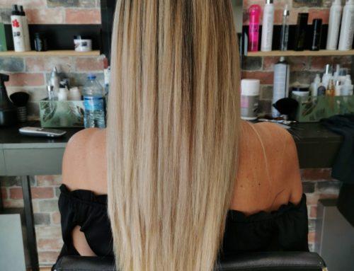 Ombré blonde